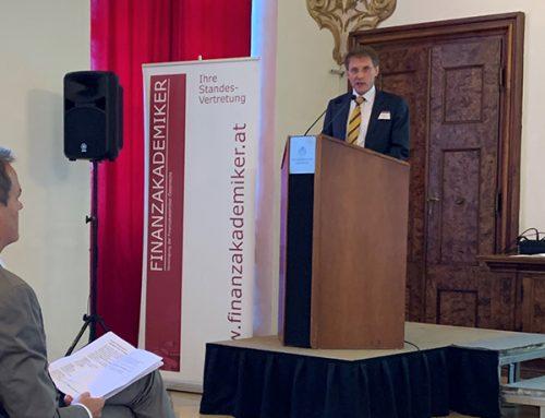 Ansprache des Präsidenten bei der 70 Jahr Feier der Finanzakademiker