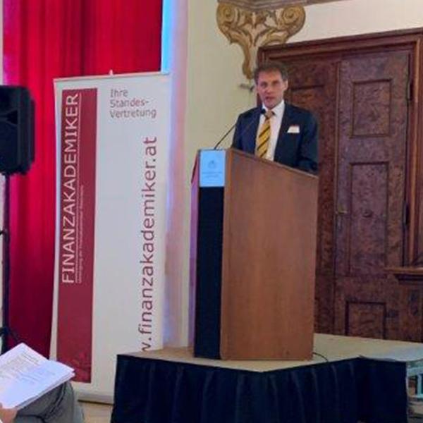 Ansprache des Präsidenten der Finanzakademiker Österreichs Anton Trauner bei der 70 Jahr Feier der Finanzakademiker